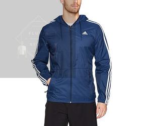 Casaca Casaca Adidas Essentials Blue Casaca Adidas Blue Essentials Adidas 0PknOw
