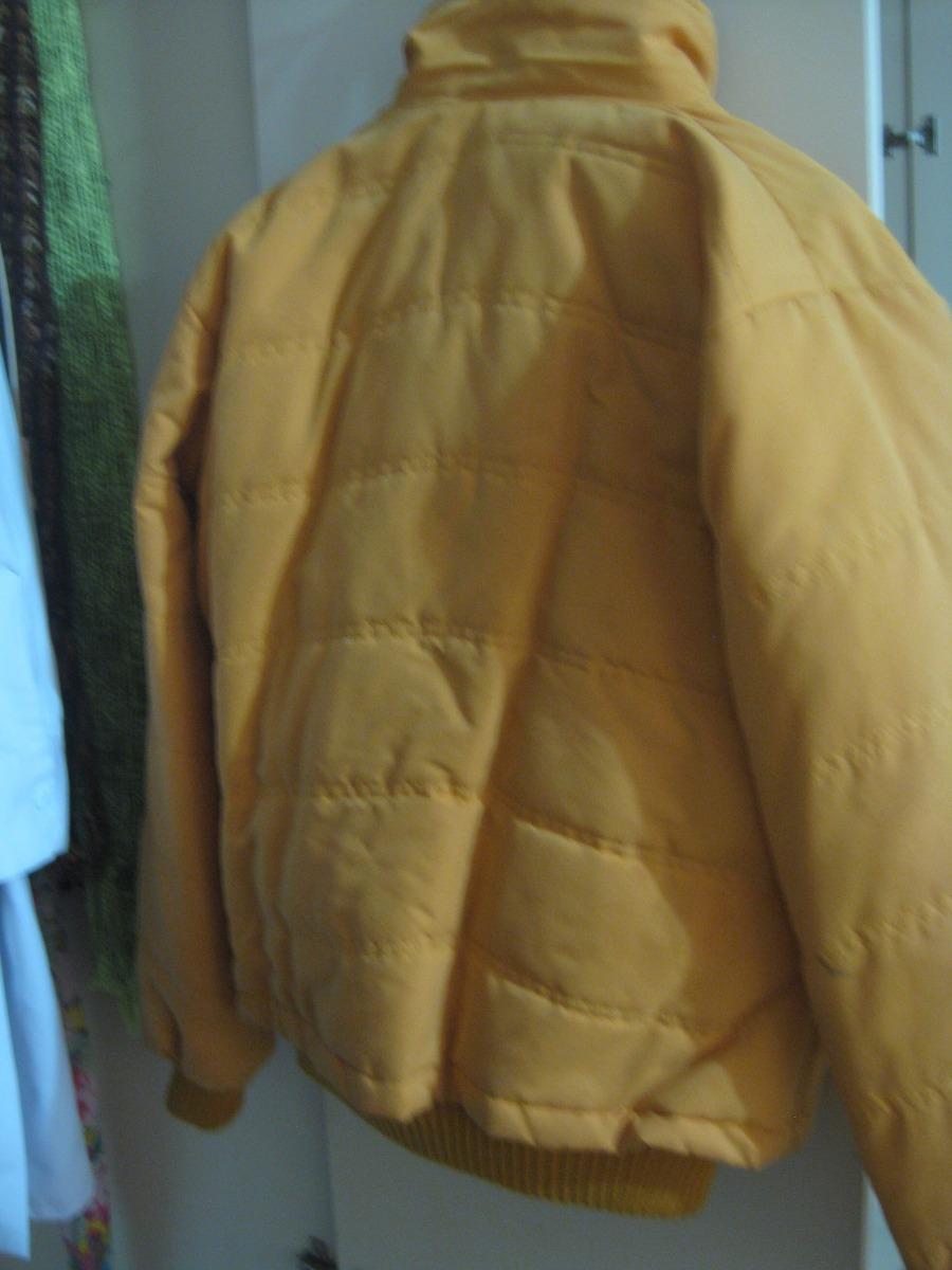 comprar popular 73eb5 27845 Casaca Amarilla Para Mujer Talla L - S/ 50,00