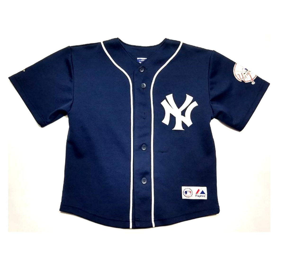 6299d8d7a casaca baseball new york yankees niño majestic jeter 2. Cargando zoom.