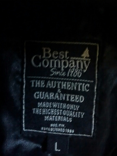 casaca best company since 1986 importada de italia.