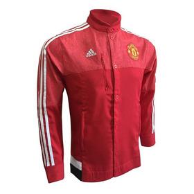 Casaca Cortaviento Manchester United Chaqueta adidas