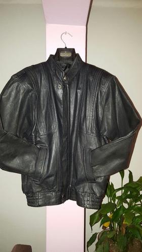 casaca de cuero hombre
