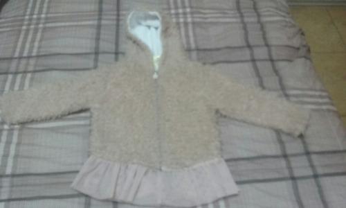 casaca de peluche