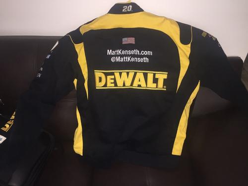 casaca dewalt racing - talla xl