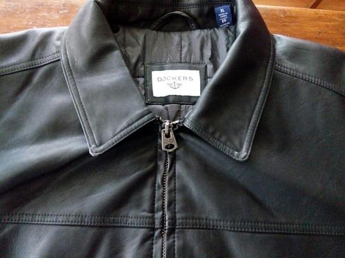casaca ecocuero  dokers  talla xl nueva