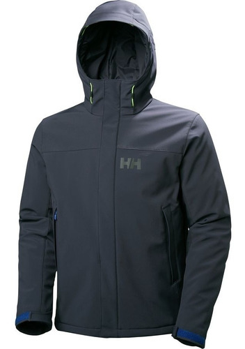 casaca helly hansen forseti azul grafito \ oferta