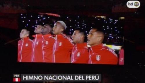 casaca himno umbro original selección peruana new