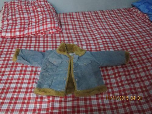 casaca jean con peluche a solo 35 soles !!