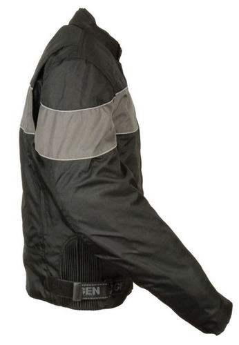 casaca milwaukee leather hombre estilo scooter ref negra lg