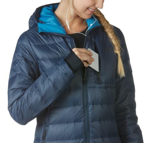 casaca mujer oakley plumas modelo rattler tallas xs, s nuevo