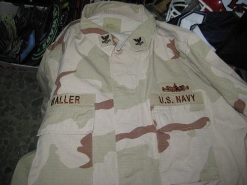 casaca us navy desert - original - usa talle l