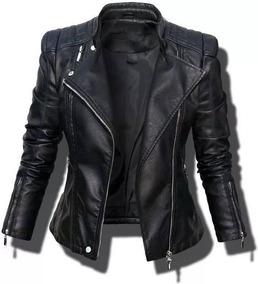 venta minorista fcbc0 64b3a Casaca/chaqueta De Cuero Para Mujer