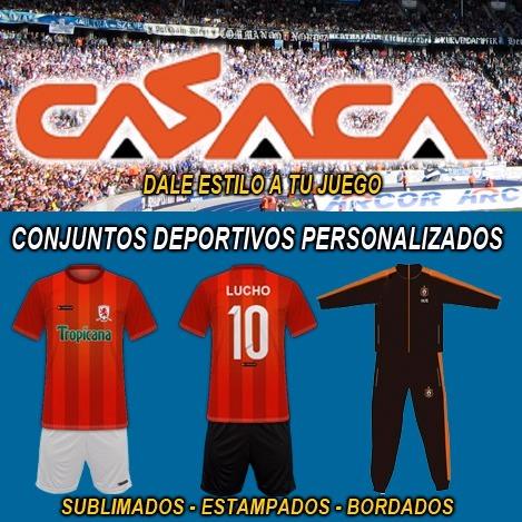 3df127bd5b695 Casacas De Futbol Sublimadas Y Short Basico Mas Medias -   700