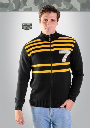 casaco acrílico bordado 42001-006