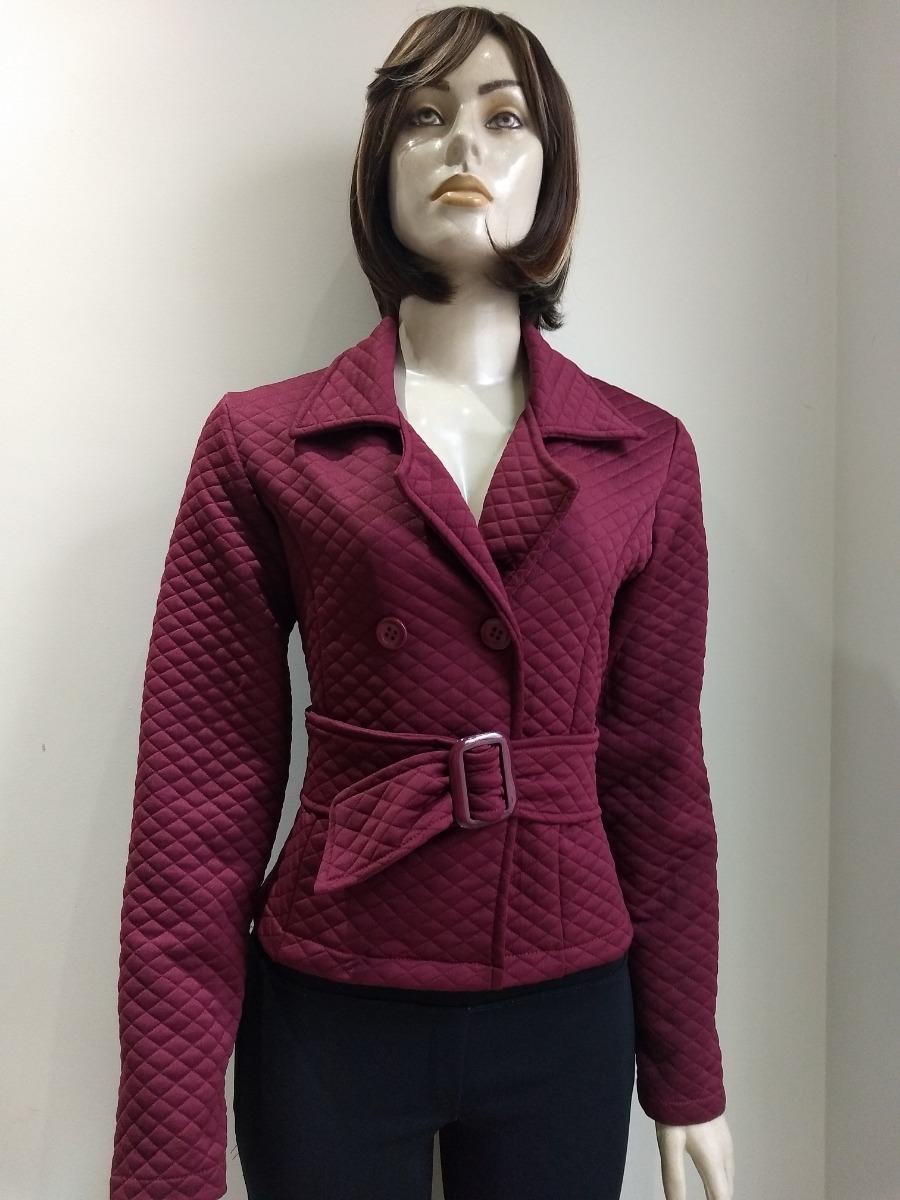 5c2c893123 casaco blaze plus size feminino de metalasse e cinto fivela. Carregando  zoom.