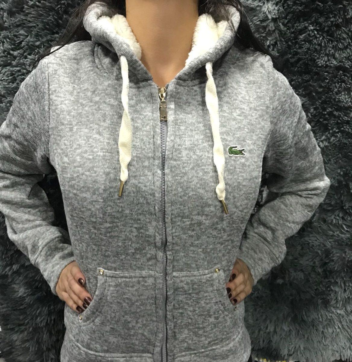 e3d9863913d33 casaco blusa feminina lacoste para frio intenso frete gratis. Carregando  zoom.