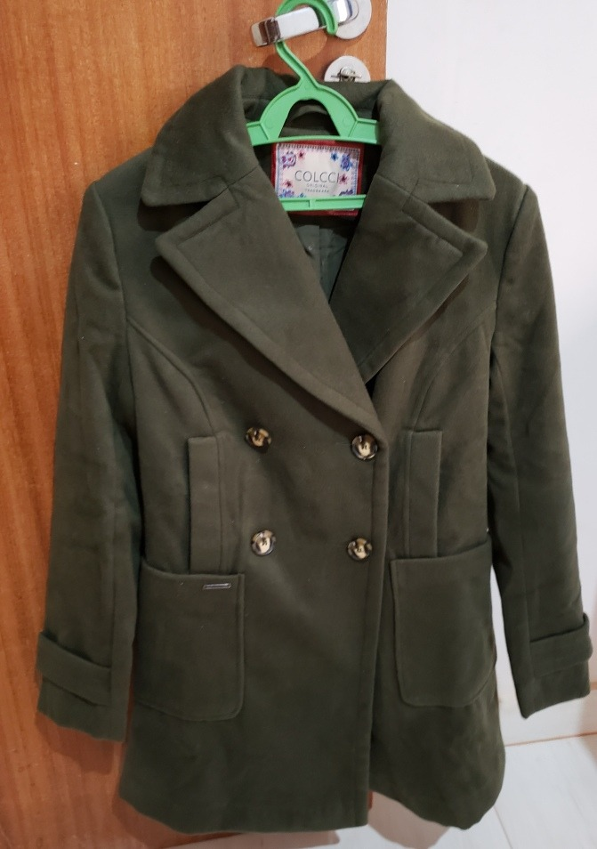 b40785589 Casaco Colcci Original Verde Militar - R$ 250,00 em Mercado Livre