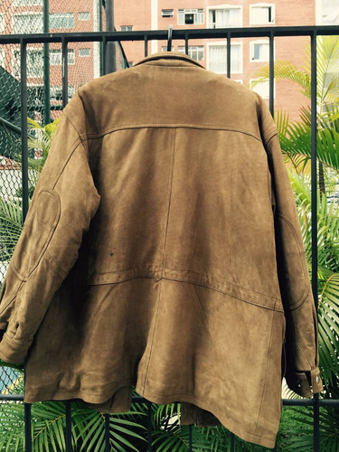 casaco couro aviador
