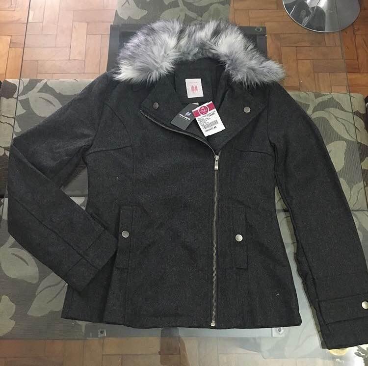 61c55ce50fe63 Casaco De Frio Feminino Polo Wear - R  160