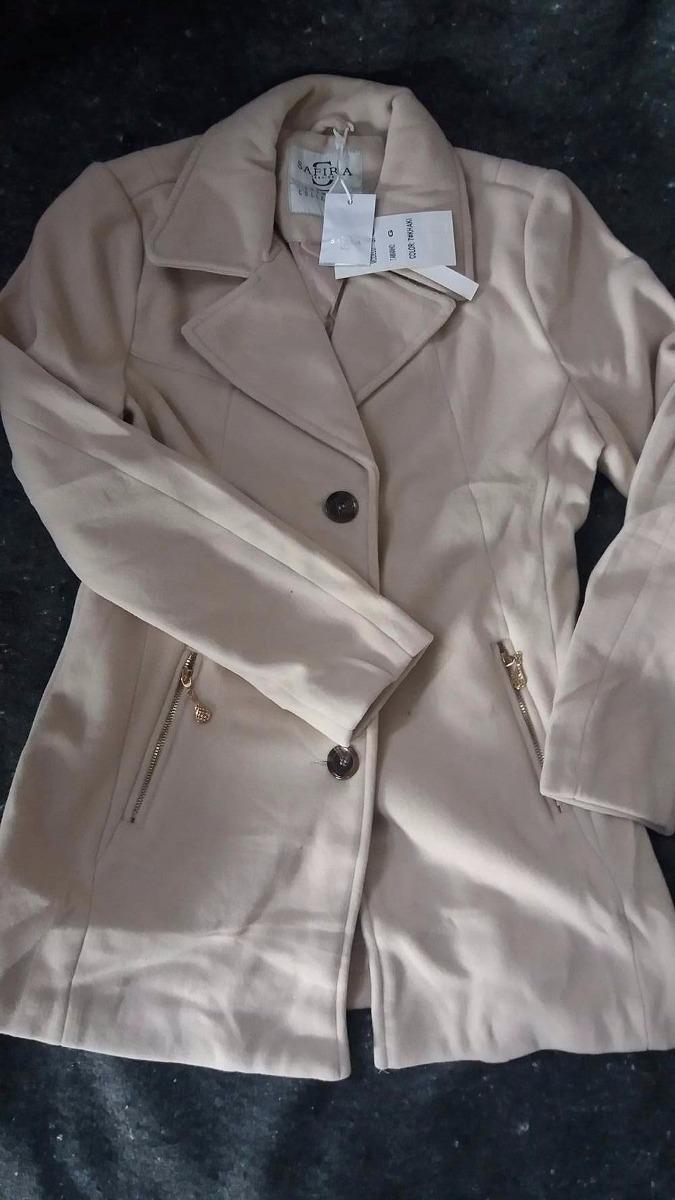 b4aedd56e Casaco De Lã Batida - Lançamento 2017 Safira Fashion - R$ 189,00 em ...