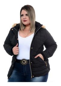 aad18aeca3d5 Casacos Plus Size Feminino - Casacos Femininos com o Melhores Preços no  Mercado Livre Brasil