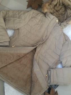 casaco de nylon feminino plus size (lançamento inverno 2019