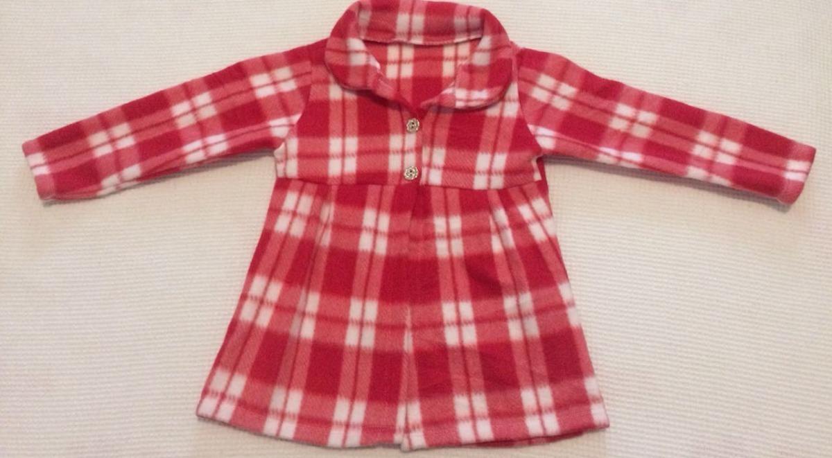 023a417a18 Casaco Feminino Blusa Vestido Infantil Inverno Plush
