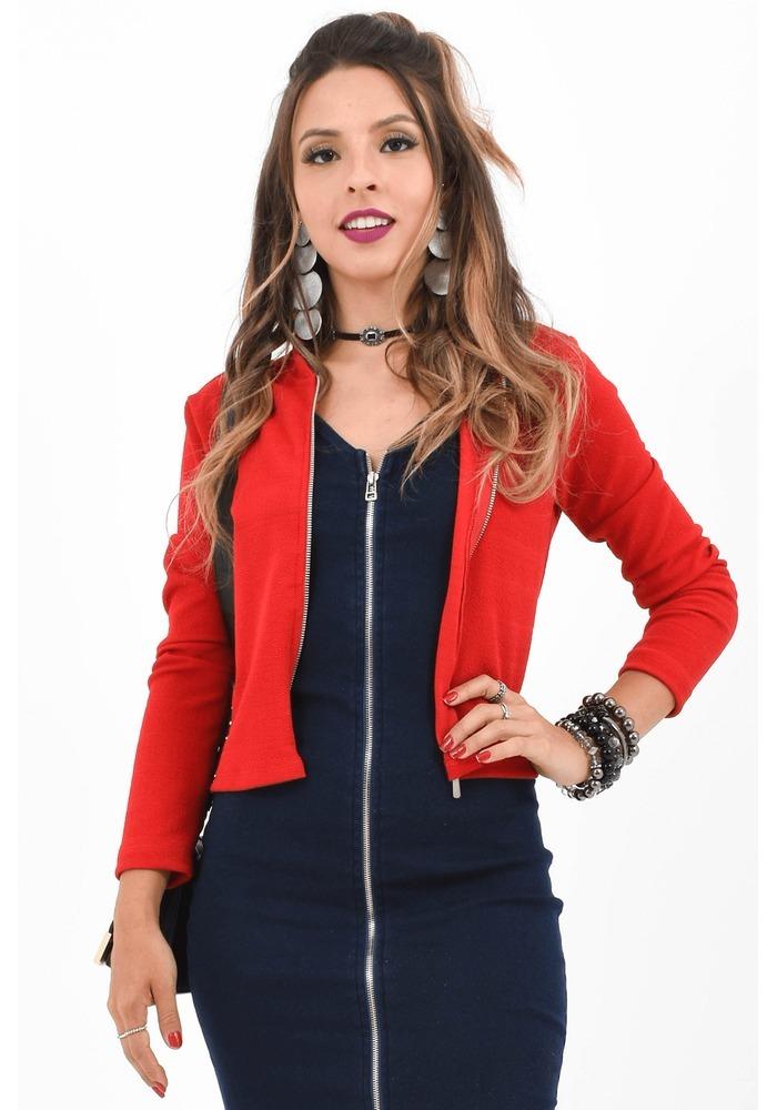 casaco feminino social jaqueta feminina blazer festa oferta. Carregando  zoom. 67c42ac7e99bf