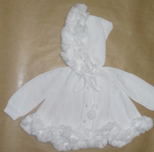 casaco infantil capa c/ capuz agasalho de 1 a 2 anos ref.122