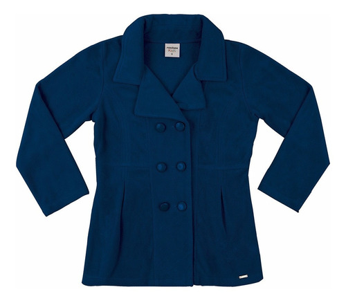 casaco infantil feminino soft oferta rovitex 04 a 16 anos
