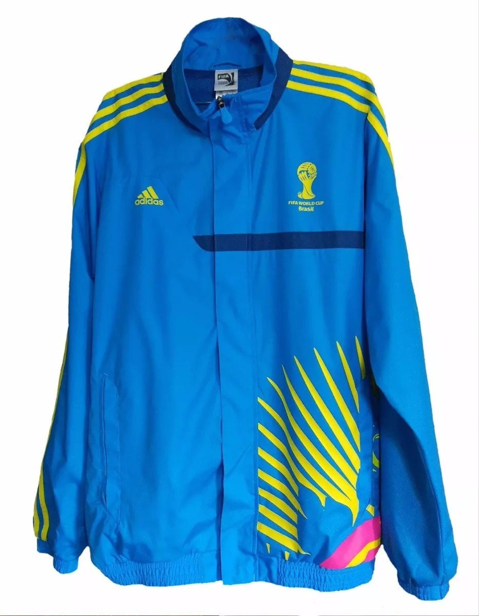 casaco jaqueta adidas dos voluntários da copa 2014 brasil. Carregando zoom. 3379286148a