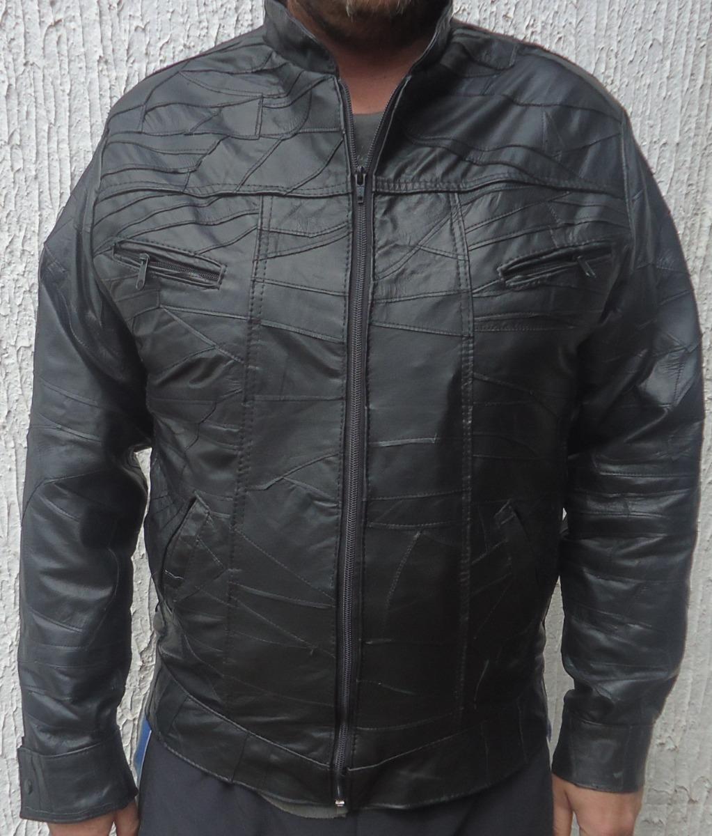9eb5b5cbc Características. Marca Rafaini Couros  Modelo Jaqueta  Gênero Masculino   Tipo de casaco Jaqueta  Material do casaco couro legitimo retalhos ...