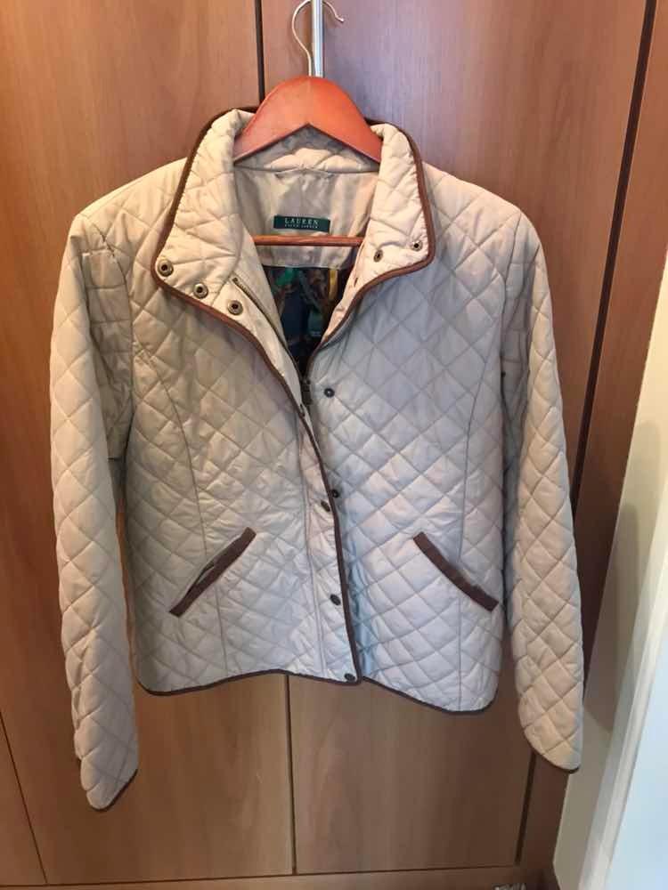 6e1f0191b0cbf casaco jaqueta ralph lauren feminina caqui marrom forrada. Carregando zoom.