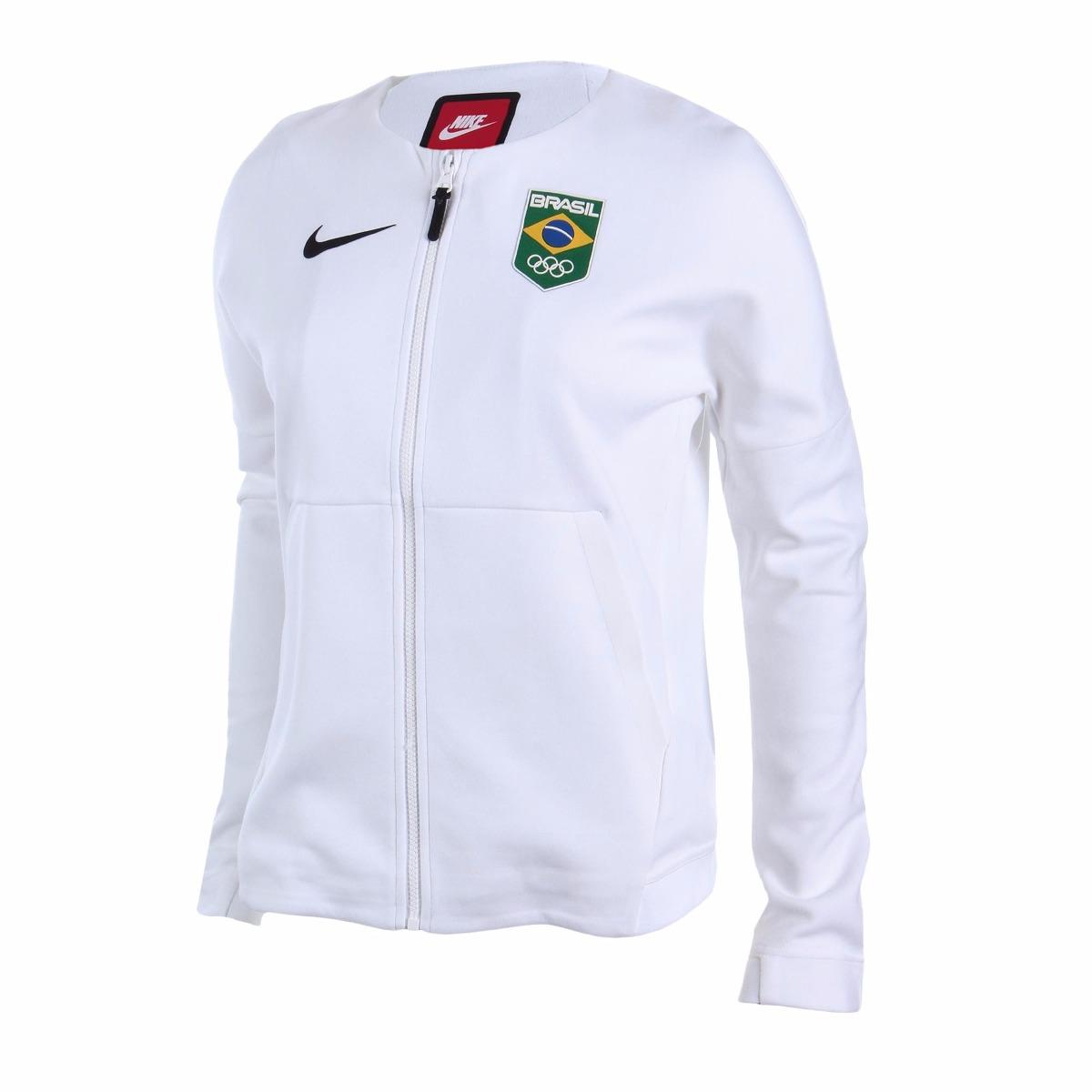 casaco   jaqueta - time brasil olimpiadas 2016 (feminino). Carregando zoom. 18e5eb56ec41d