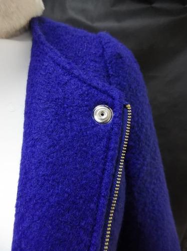 casaco lã batida sobretudo blusa frio roupa feminino zingara