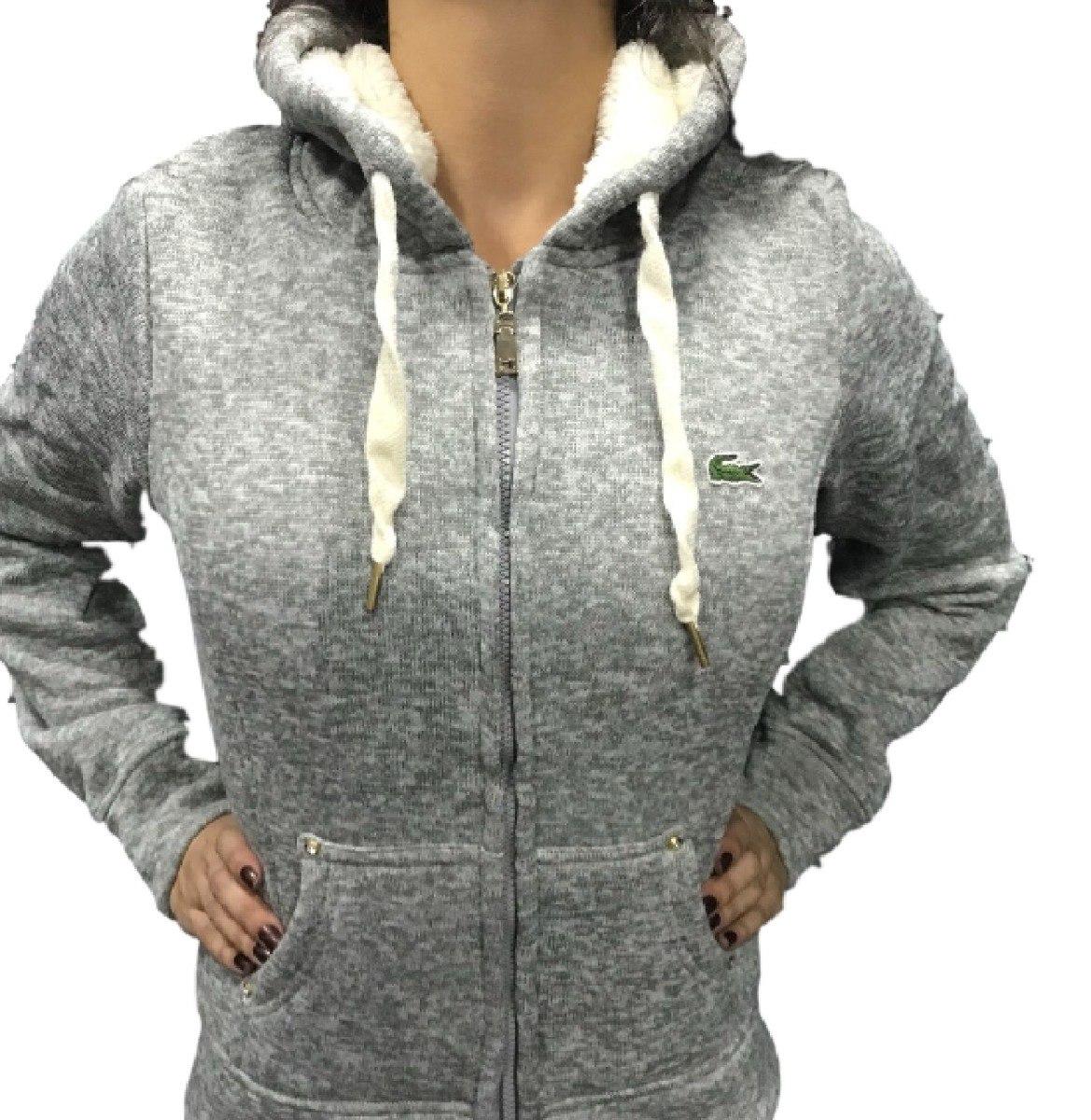 28619dd51e906 casaco lacoste moletom feminino com capuz promoção. Carregando zoom.