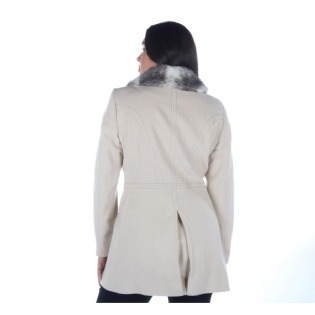 8deef0f9c Casaco Malise Feminino 7/8 Lã Cashmere Gola Fake - R$ 934,00 em ...