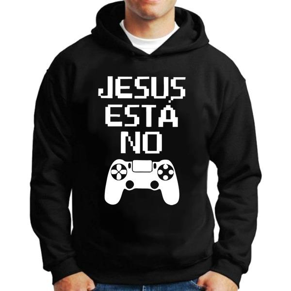 Casaco Moletom Jesus Está No Controle Blusa Frio Gospel - R  89 3e1be98bf9a