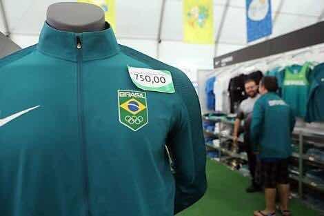 Casaco Nike Brasil Olimpíadas Rio2016 (leia Anúncio) - R  299 89d59940551d6