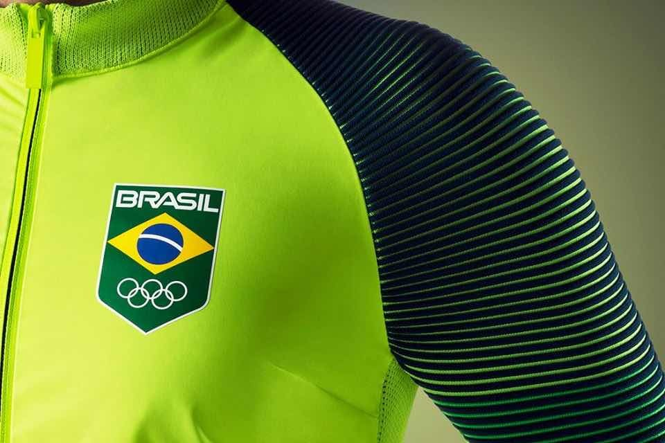 5af1e43ac249d casaco nike time brasil olimpíadas rio 2016. Carregando zoom.