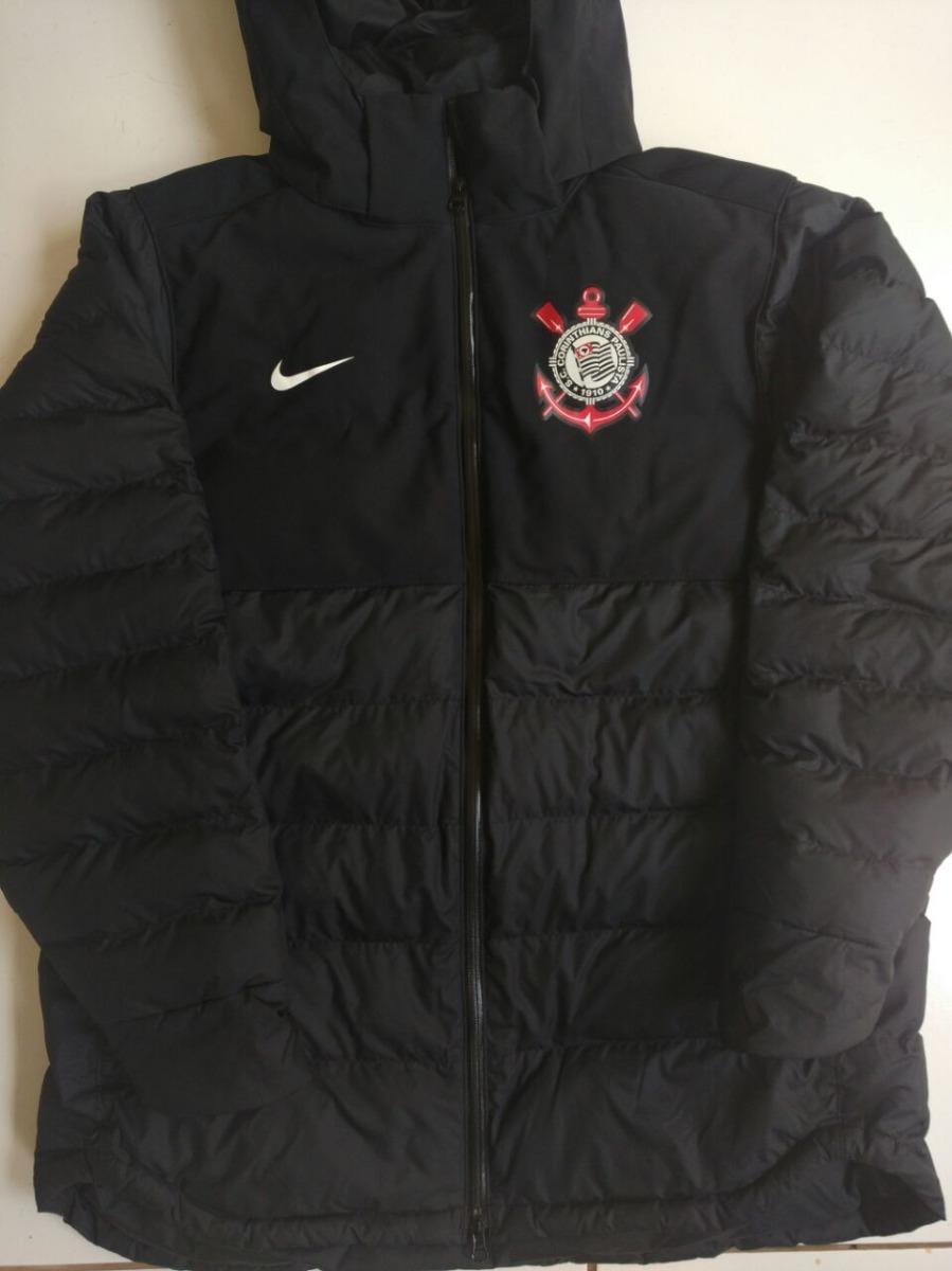 ae46e57c2bf5c Casaco Parka Nike Jaqueta Corinthians Mundial Jogador Jogo - R ...
