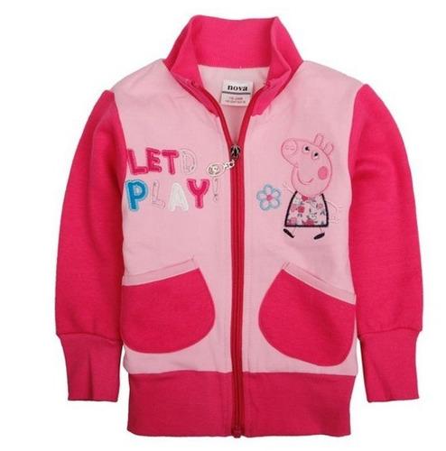 casaco peppa pig - george pig menino -menina -pronta entrega