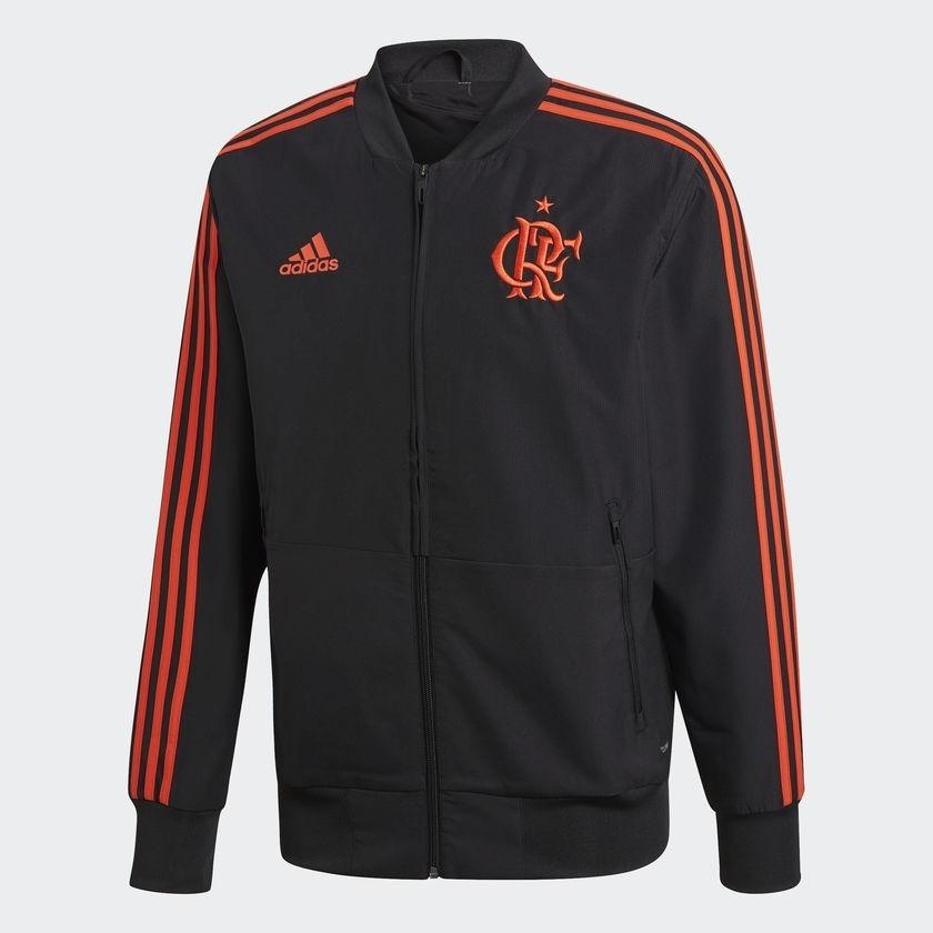 5768958d724 casaco pré jogo original flamengo adidas preto 2018. Carregando zoom.