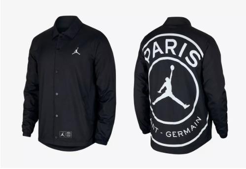 3056319c0 Casaco Psg Nike Jordan Neymar Coaches - R  420