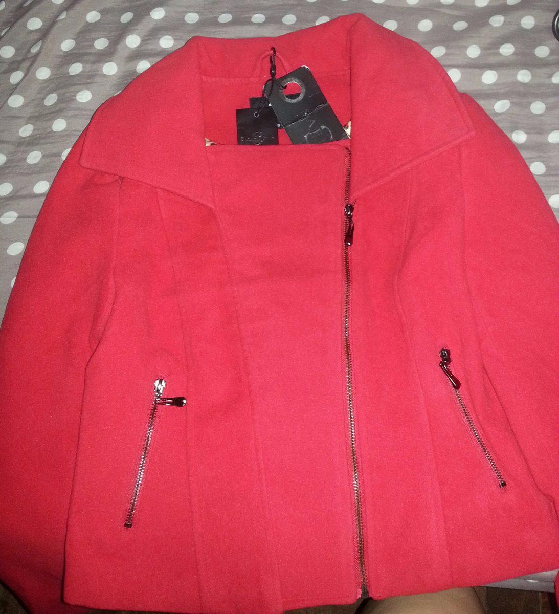 89f99e37e Casaco Safira Fashion Vermelho - Produto Novo! - R$ 90,00 em Mercado ...