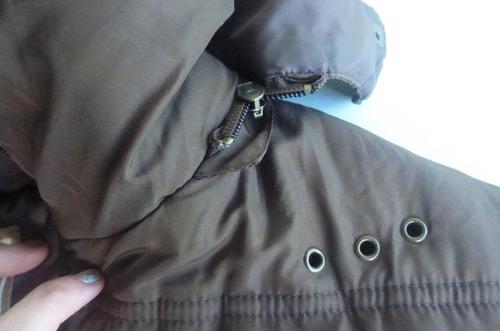 casaco siberian novo capuz removivel tam. m
