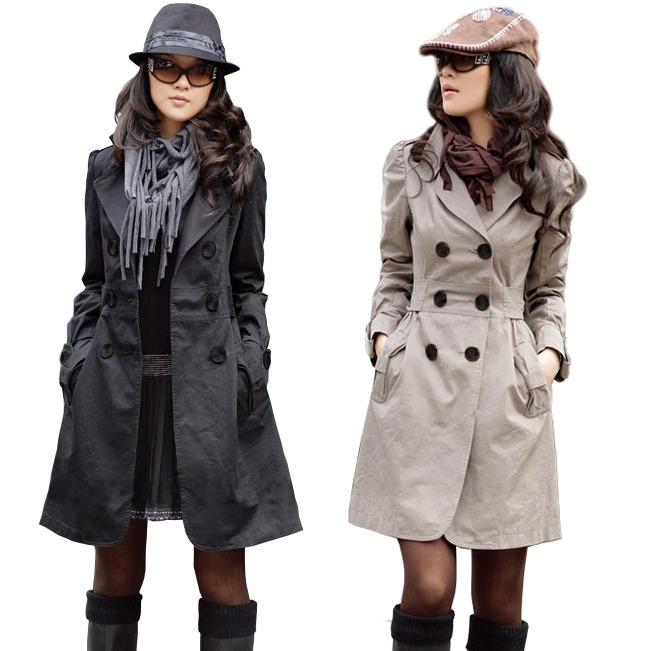 fe337f93c Casaco Sobretudo Feminino Trench Coat Inverno Frio Blazer - R$ 299 ...