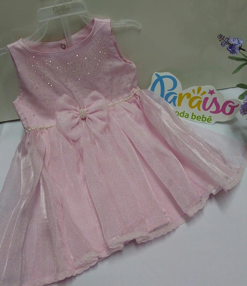 Casaco Sobretudo Paraiso + Vestido Menina Tam 1 2 3 Ref 7178 - R ... 7ef03939e3e7
