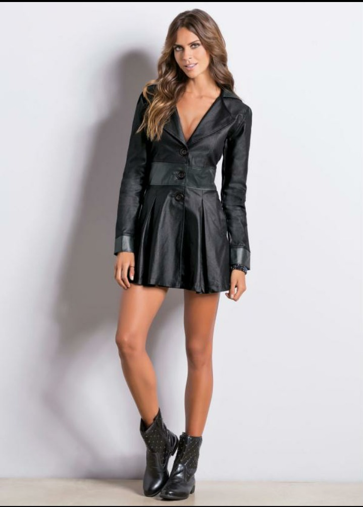 4a9bbdf905d casaco sobretudo resinado preto. Carregando zoom.