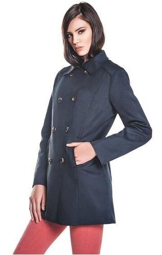casaco suede navy
